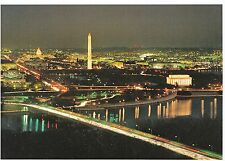 America Postcard - Across Potomac at Sunset     SM374
