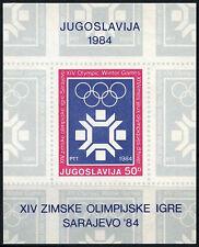Yugoslavia 1983 SG#MS2106 Winter Olympic Games MNH M/S #D52349