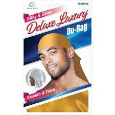 Smooth & Thick / Shiny & Silky Deluxe Du Rag GOLD NEW!!!!!!!!!