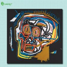 "Jean Michel Basquiat ""(Head). 1981"" HD print on canvas huge wall picture  20x20"""