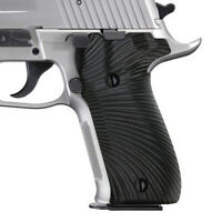 Coolhand G10 Gun Grips for Sig Sauer P226 MK25 Elite Tacops Black Sunburst