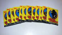 Dick Tracy 1990 Topps Lot 12 Unopened Packs Ea. W/8 Glossy Movie Cards 1 Sticker