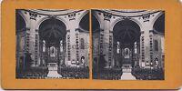 Boulogne-sur-Mer Chapelle de la Vierge France Stereo Vintage argentique