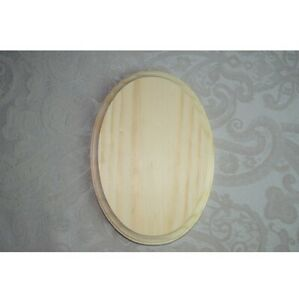 NEW Darice Unfinished 5x7 Oval Craft Wood Plaques or Bases