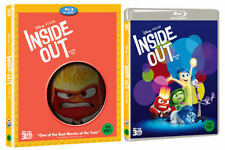 Inside Out - Blu-ray 3D Only (2015) w/ Slipcover