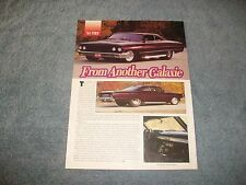 """1964 Ford Galaxie Custom Pro Street Article """"From Another Galaxie"""""""