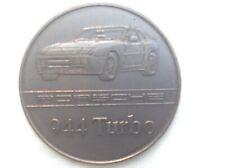 PORSCHE Calender coin 1986 Commemerating the 944 turbo