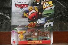 "DISNEY PIXAR CARS 3  ""TEAM 95 MATER - FAN FAVORITE""  NEW IN PACKAGE, SHIP WW"