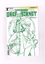 LEGENDERRY GREEN HORNET #1 Very ltd ComicsPro exclusive cover by Joe Benitez! NM