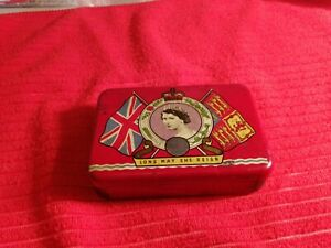 OXO tin commemorating the Coronation of Queen Elizabeth II in 1953