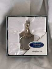 UNISEX CHRISTENING OR BABY SHOWER SILVER PLATED DUMMY- NEW SEALED