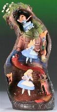 WDCC Alice and Dinah Down The Rabbit Hole figure Ornament World limited 500