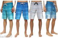 BILLABONG MENS BOARDSHORTS SWIMSUIT SWIM TRUNKS PLAID WHITE GRAY BLUE 30 32 34