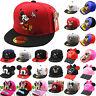 Kids Girls Boys Cartoon Mouse Baseball Summer Hats Caps Sun Hat Snapback Outdoor