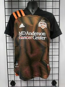 2020-21 adidas AUTHENTIC HOUSTON DYNAMO AWAY JERSEY (EH8639) SIZE MENS LARGE