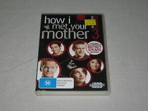How I Met Your Mother - Season 3 - 3 Disc - Region 4 - DVD