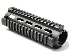 223  Quad Rail Handguard 6.7 inch Carbine Length 2 Piece Drop-In Picatinny