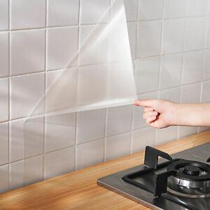 Transparent Klebefolie Schutzfolie Selbstklebende Möbelfolie Folie Küche Dekor