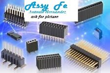 2u.x 5388 CONNECTOR-PINS STRIP-TIRA DE PINES PCB B-TO-B 72P 2R 2,54mm ORO IN