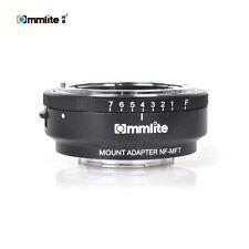 Commlite CM-NF-MFT Aperture Adapter for Nikon G DX F mount Lens to Micro 4/3 MFT