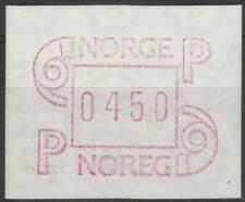 Noorwegen postfris automaatzegels 1986 MNH A3 (12)