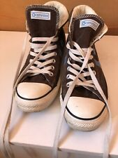 Mens converse high tops size 7 Brown  - used condition