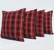 "Home Decorative Pillows Red Kilim Handwoven Turkish Square Wool Area Rug 16""X16"""