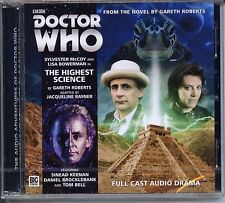 Dr Doctor Who The Highest Science Audio CD MINT Sylvester McCoy