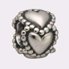 New Authentic Pandora Sterling Silver Everlasting Love Charm Bead Hearts #790448
