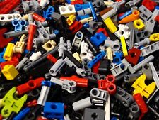 100 Lego Technic Mindstorms Small Parts & Pieces Lot: Pins Axles Rods Connectors