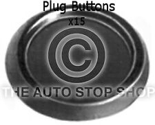 Fasteners Plug Buttons 25 MM Citroen C6 - ZX Part Number: 743ci Pack of 15