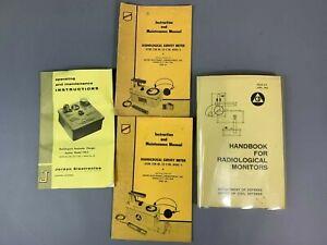 🔥 L👀K 4 Radiation Detector Survey Meter Manuals
