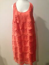 Gorgeous Preowned ALI-RO Orange Cocktail Dress ,Sz 4!!!