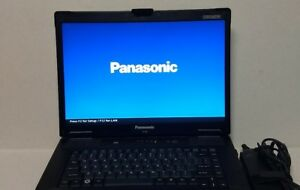 PANASONIC TOUGHBOOK CF-52 2.4GHz CPU 4GB RAM 120GB SSD HDD WIN 10 PRO 64 bit
