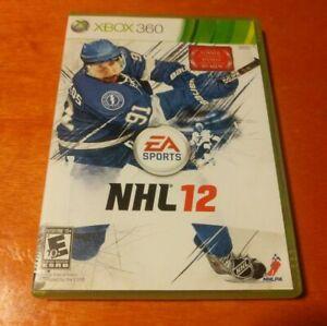 NHL 12 Microsoft Xbox 360 EA Sports Electronic Arts Dolby Digital Hockey
