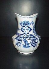 Cauldon Place Vase John Ridgway Blue Onion England Antique Flow Blue