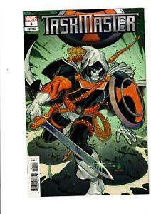 Taskmaster #1 1:50 Nick Bradshaw Retailer Incentive Marvel 2020