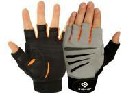 Bionic Men's Cross Training Fitness Gloves, Fingerless, Pair, Medium, (PAIR!)