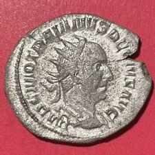 Trajan Decius Silver Antoninianus, RIC 10b, 250-251 AD, 4.6g