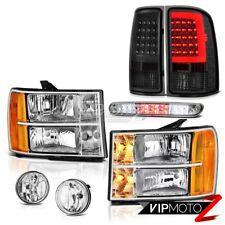 08-14 Gmc Sierra 3500 XFE Smokey Taillamps Headlamps Foglights High Stop Lamp