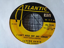 LaVern Baker 45 I'm Living My Life for You/I Can't Hold Out any Longer Rare R&B