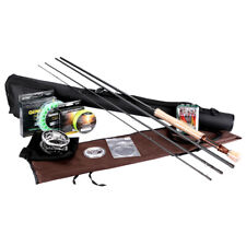 Fly Rod Combo 2.7M/3.0M Fly Fishing Rod 5/6 7/8 CNC-Machined Fly Reel Flies Line