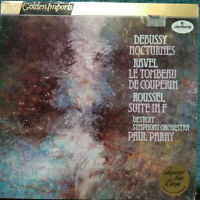 MERCURY STEREO SRI-75100 DEBUSSY NOCTURNES RAVEL ROUSSEL PARAY SEALED UNOPENED M