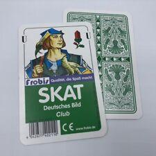 Ab 0,94�'� je Stück Skatspiele Club Deutsches Bild, Kornblume Spielkarten Frobis