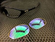 LINEGEAR Custom Replacement Lens for Oakley XX Twenty - Dichro Green2 [TW-DG2]