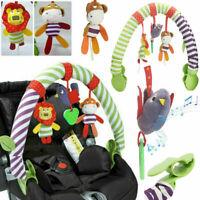 0-12M Baby Crib Toys Stroller Rattles Seat Take Along Travel Arch Toy for Pram