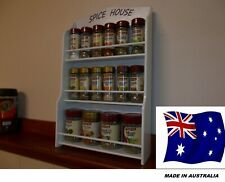 spice rack / Spice House will hold 16 to 21 jars /Made in OZ