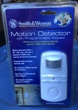 Brand New Smith & Wesson Security Motion Detector with Programmable Keypad