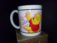 "Disney's Winnie The Pooh Cross Stitch With ""#1 Grandma"" Oversized Mug"