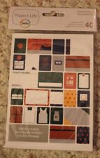 NEW Project Life Becky Higgins 40 Themed Cards BASKETBALL Scrapbooking